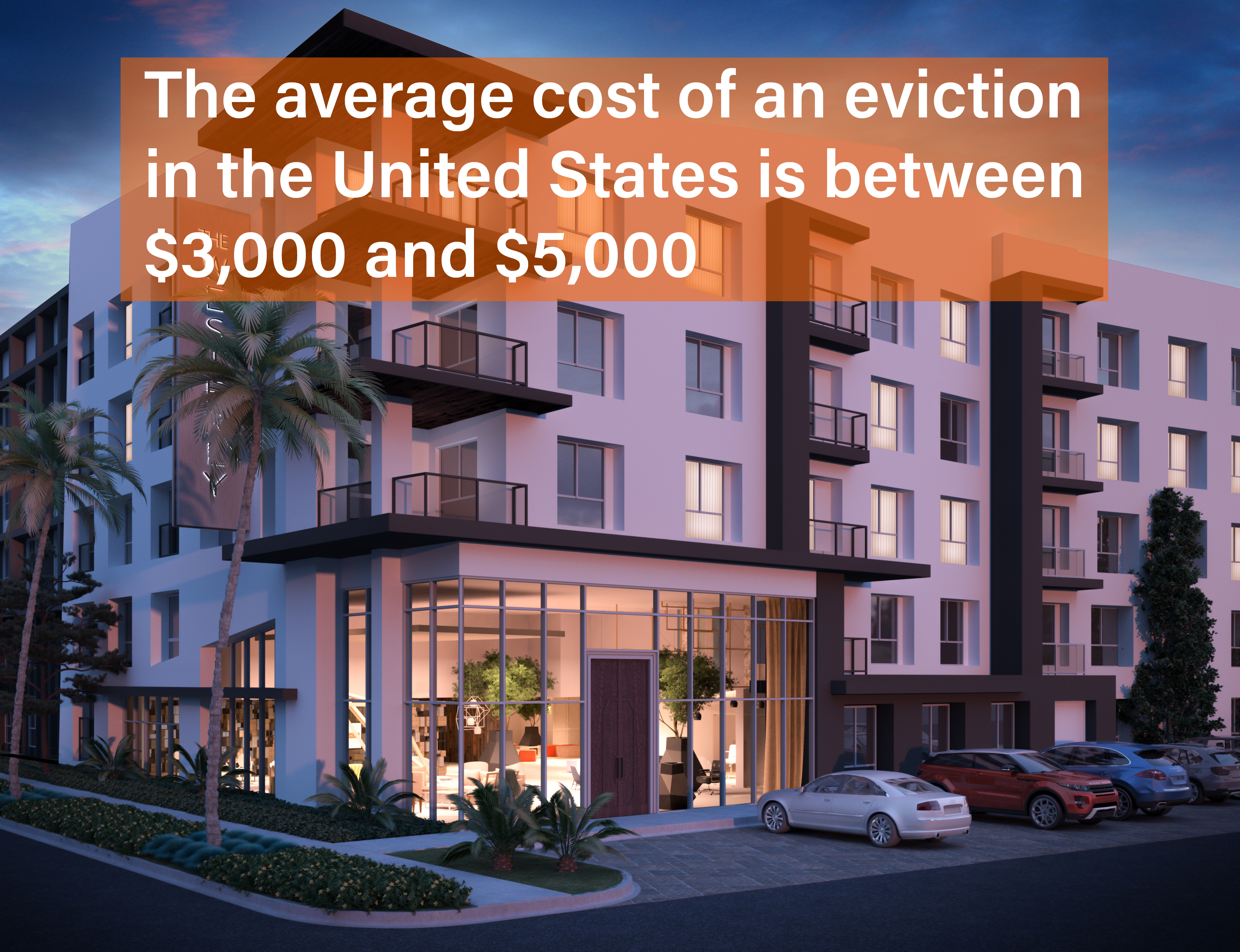 eviction cost