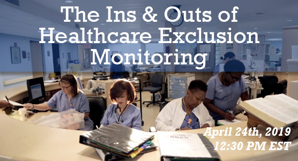 Healthcare Exclusion Monitoring Graphic